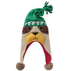Kids Dog Winter Hat - Company Kids had designed as an adorable doggie.