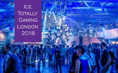 Ice Totally Gaming London 2018 - International Casino Exhibition is the world's largest platform for gaming solution exploration Game 2018, Casino Games, Upcoming Events, Success, Ice, London, Concert, World, Gaming
