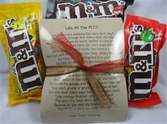 This is such a great quote by Elder Scott Standing... it describes how life in the MTC really is and portrays the message that life in the MTC is what YOU make of it! The tag is definitely a keeper...  3 packs of M's are included in this bag.
