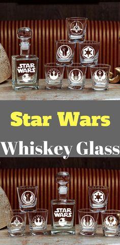 Star Wars Whiskey Glass - Star Wars Gifts #starwars #whiskeyglass #glass #whiskey