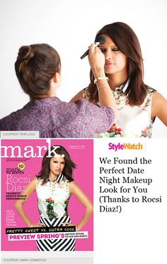 Breaking Beauty News: Rocsi Diaz is markgirl's latest celebrity partner! @People magazine StyleWatch has the exclusive.