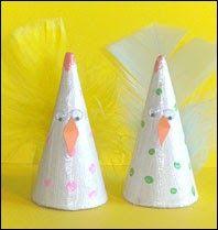 Kul kyckling av pappersstrut. Påskpyssel för barn. Classroom Crafts, Easter, Christmas, Tips, Home Decor, Xmas, Weihnachten, Yule, Jul