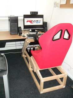Picture of your racing setup? | Sim Racing Hardware and Cockpits | SimHQ Motorsports Forums