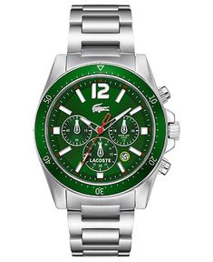 Lacoste Green face watch