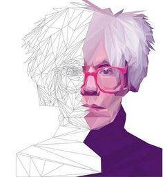 An Illustrated Guide To Creating Low Poly Portraits Of Legendary Artists