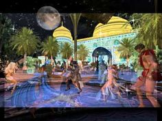 Arabian nights at Pacifique Retreat.  Dancing in the warm sands at Pacifique Palace with a full moon to sunrise; with DJ Delirious.  3-24-12
