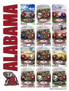 Alabama Crimson Tide 2016 Regular Season Alabama College Football, College Football Players, Best Football Team, University Of Alabama, Crimson Tide Football, Alabama Crimson Tide, Alabama Athletics, College Game Days, Football Pictures