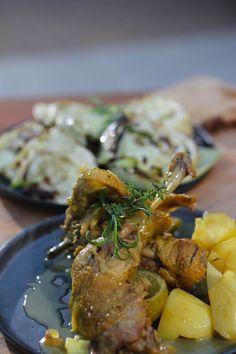 Recept 'Stoofpotje van kip met limoncello ' | njam!