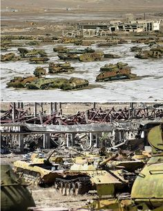 Soviet Tank Graveyard (Afghanistan)