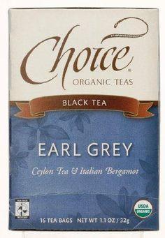 JUST IN: Choice Organic Te.... SHOP NOW! http://www.zapova.com/products/choice-organic-teas-earl-grey-6x16-bag?utm_campaign=social_autopilot&utm_source=pin&utm_medium=pin