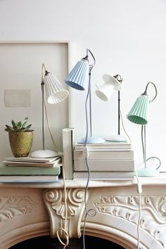 #Hector #Pleat #Table #Lamp #Anthropologie