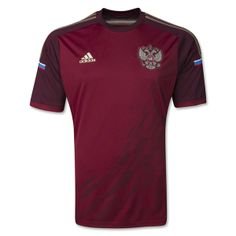 In the lead-up to the FIFA World Cup 2014 adidas is proud to present the new Russian National Team home kit which is the lightest one ever created by adidas. Original features of the outfit include a printed tribute to the Conquerors of Space celebrating Russia's great space achievements, three adidas golden stripes and the Flag of Russia.