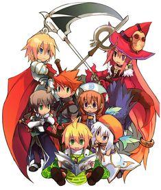 Character Art - Luminous Arc CHIBIS!!!!