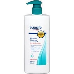 Equate Intense Therapy Dry Skin Lotion. Poor man's Eucerin but I actually prefer this bc it is a better consistency.  Has alpha hydroxy acids which helps naturally exfoliate skin.  Can't live without this body lotion in the winter.  VERY thick.