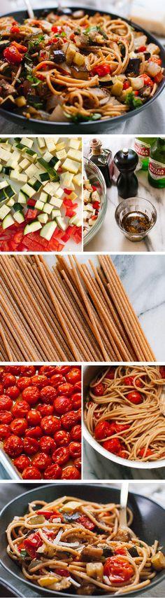 Italian Roasted Ratatouille Recipe //