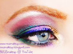 Marid Gras Eye shadow makeup   # Pin++ for Pinterest #