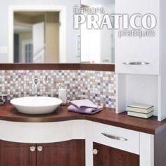 Salle de bain éclatante de style - Salle de bain - Avant après - Décoration et rénovation - Pratico Pratique