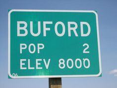 Buford, Wyoming., Population: 1 - Starting out as a military outpost in the mid-1800s, Buford was once home to 2,000 people. But the population dwindled down to one over the years, leaving Don Sammons as the sole resident, once his wife died and his son moved away. After many years running the town's gas station and convenience store, Sammons decided in 2012 to move, and he sold the place via an auction site for $900,000.