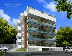 CLIENTE: Anfra / EMPREEND.: Blue / END.: R. Antônio Vaz Cavalcante, 119, Piratininga - Niterói/RJ / ANO: 2014 / PERSPECTIVA: Artistas Associados #moemamachado #arquitetura #edifício #residencial #fachada #architecture #edification #facade #building