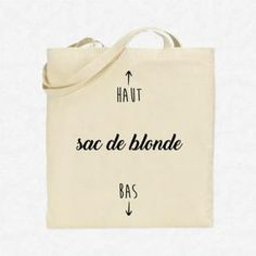 Sac Shopping Tote Bag Sac de blonde Beige Sacs Tote Bags, Diy Tote Bag, Canvas Tote Bags, Reusable Tote Bags, Beige Blonde, Mothers Day Shirts, Designer Totes, Silhouette Portrait, Fabric Bags