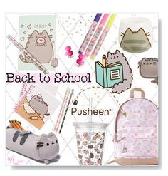"""""""#PVxPusheen"""" by desert-belle ❤ liked on Polyvore featuring Pusheen, contestentry, polyvoreeditorial and PVxPusheen"""