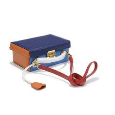 Grace Small Box Saffiano Penta — Mark Cross - America's First Luxury Leather Goods Brand