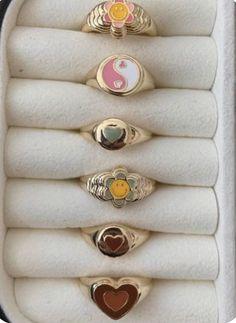 Nail Jewelry, Trendy Jewelry, Cute Jewelry, Jewelry Rings, Jewelry Accessories, Fashion Jewelry, Funky Jewelry, Luxury Jewelry, Gold Jewelry