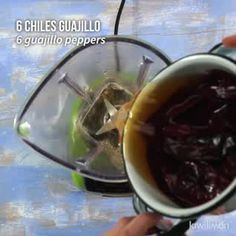 How To Make A Blackberry Compote – Cooking Authentic Mexican Recipes, Mexican Food Recipes, Pork Recipes, Cooking Recipes, Healthy Recipes, Oven Cooking, Cooking Oil, Cooking Torch, Pressure Cooking