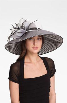 August Hat Garnet Wide Brim Hat   Nordstrom Kentucky Derby Party Hat Idea