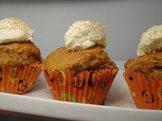 Low-Carb-Kürbis-Cupcake