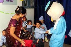 Kids enjoying with their favourite cartoon characters @smipsjammu #SMIPS #StMarysInfantPreSchool #st_marys_infant_pre_school_jammu #preschoolfun #preschoolsinjammu #kindergarteninjammu #playschool