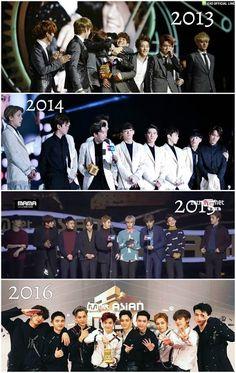 ' W E A R E O N E ' ' L E T ' S L O V E ' - EXO 2012 - 2017