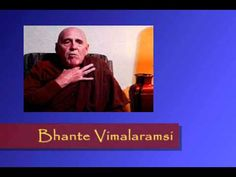 La Práctica de Meditación Budista - Bhante Vimalaramsi  C/SUBTÍTULOS EN ESPAÑOL