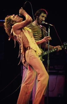 soundsof71: The Who: Roger Daltrey and Pete Townshend, Houston 1975, by Robert Matheu