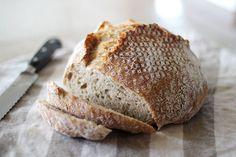Jim Lahey's No-Knead Bread  image from http://elephantine.typepad.com/elephantine/2011/11/monday.html