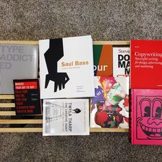 Gotta love getting a box of brain food in the mail  #books #design #art #inspiration #library #RandMlife #studio #hq