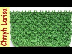 ▶️ Узор для вязания ВАРЕЖЕК спицами. Узоры спицами. Вязание спицами для начинающих Larisa Chmyh №32 - YouTube