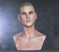 Charlize - Female face study, Andre SiK on ArtStation at https://www.artstation.com/artwork/Nb3D1