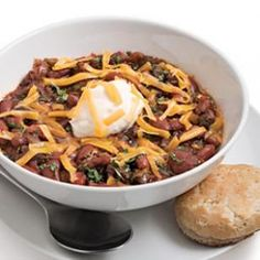 Ultimate Beef Chili - cooked tonight for tomorrow's dinner, smells great! Made a few changes from the original recipe ;)