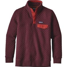 Patagonia - Cotton Quilt Snap-T Pullover Sweatshirt - Women's - Violet Red