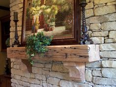 Bleached Railroad Tie Wooden Mantle From Renaissance Wood Company Www