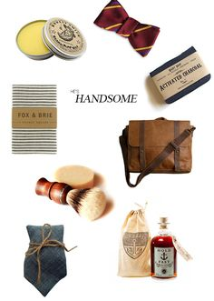 Dapper is definitely IN!  If you think you're dad would like any of these items, you're probably right!