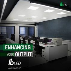 Get innovative lighting solutions for your modern and retrofit offices with IB LED's Commercial Range of lighting solutions @Zero Cost*. For more information visit us at http://www.indiabullsled.com/products/list/commercial-lighting/4.