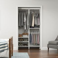 Small Closet Design, Small Closets, Closet Designs, Closet Ideas For Small Spaces Bedroom, Small Coat Closet, Bedroom Designs, Closet Space, Closet Bedroom, Dream Bedroom