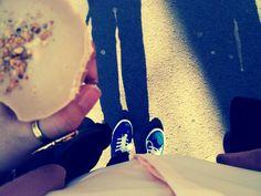 Ice cream, sun, Belgrade..