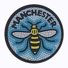 Bee Mosaic Coaster