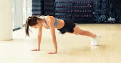 Kayla Itsine's Crazy-Good Ab and Arm Workout: outward and inward snap jumps | coveteur.com