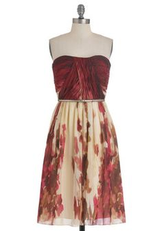 The Scenery at Sunset Dress, #ModCloth...I like the pattern/color idea -Kirsten