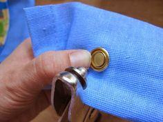 Yksi pieni käsityöblogi: Sirkkarenkaiden kiinnitys pihdeillä -tutoriaali