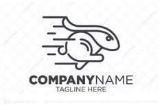 Logo for sale: Rabbit Run Logo by zepro, uploaded on Logo concept with rabbit shape run with fresh look and modern nuance. Rabbit Run, Logo Concept, Alphabet, Logo Design, Running, Alpha Bet, Keep Running, Why I Run